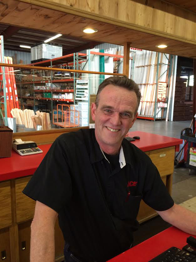 Chris Carnes, store manager at O'Connor Lumber & Ace Hardware