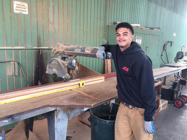 Lumber cut to size at O'Connor's Lumber & Ace Hardware