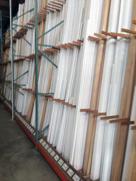 Primed & treated molding at O'Connor Lumber & Ace Hardware